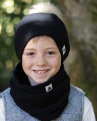black scarf 1